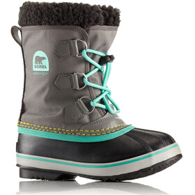 Sorel Yoot Pac Nylon Boots Youth Quarry/Dolphin